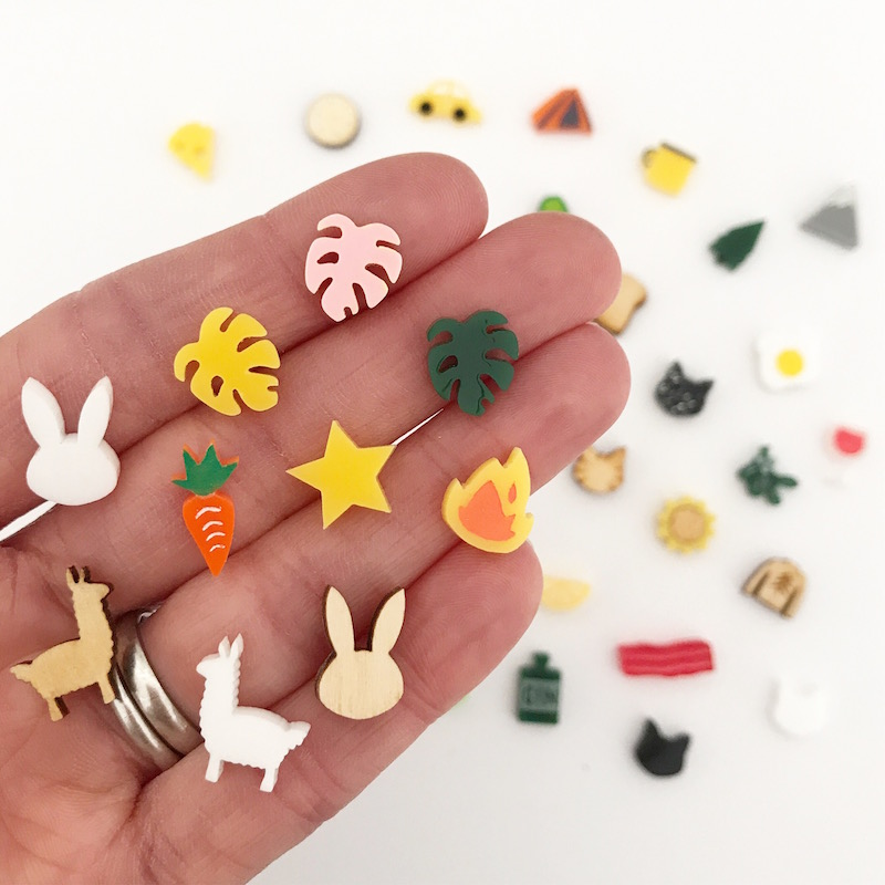 Making lots of studs for you guys to  mix 'n' match!