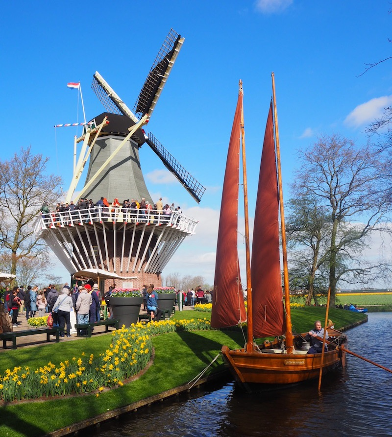 Keukenhof Tulip Garden - so much Amsterdam in one place!