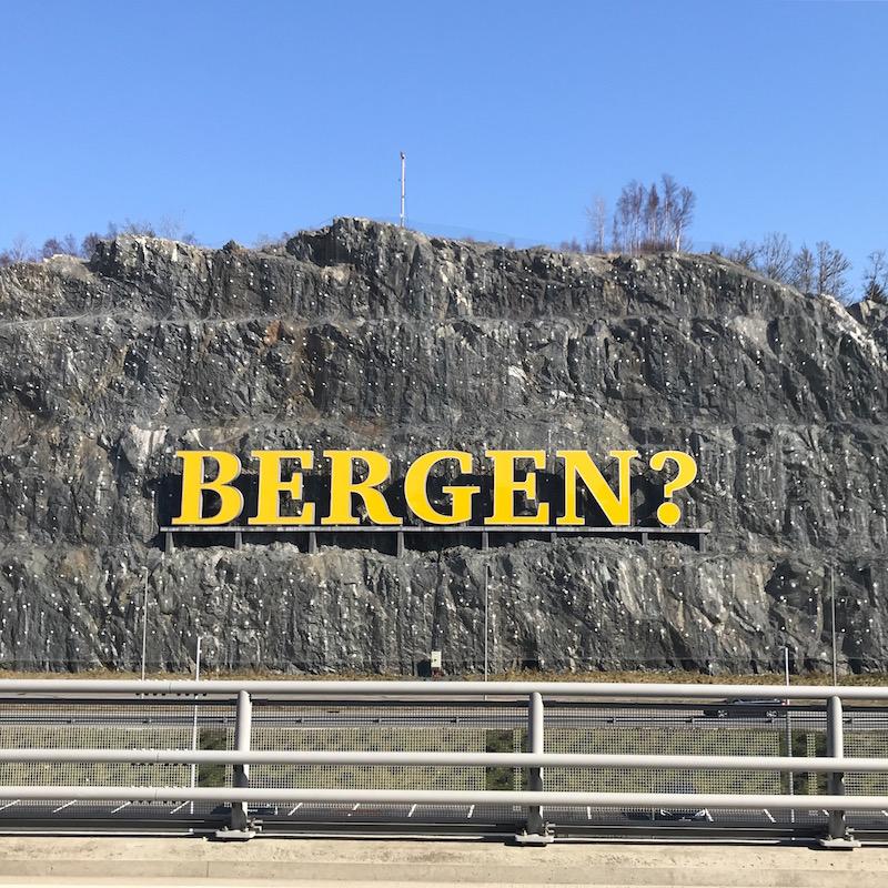 """I'm Ron Bergen-dy?"""