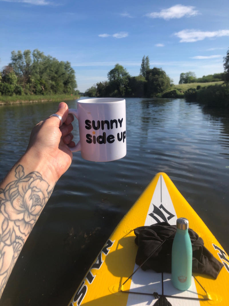 Solo SUP on the River Cam ☀️