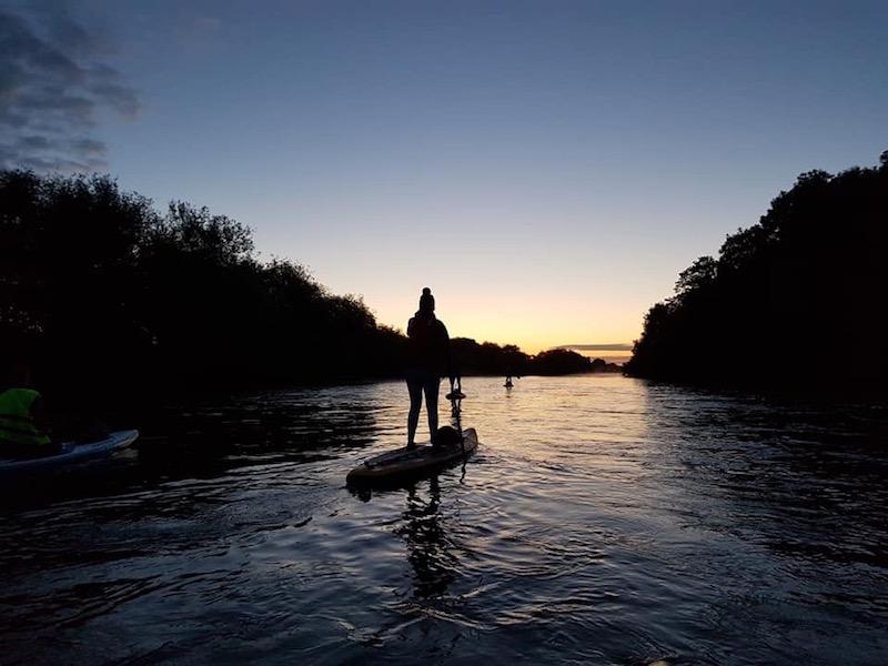 Summer Solstice Sunrise Paddle 📷  @supfitnessuk