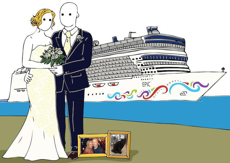Hello Sunshine wedding portrait Cruise wedding.jpg