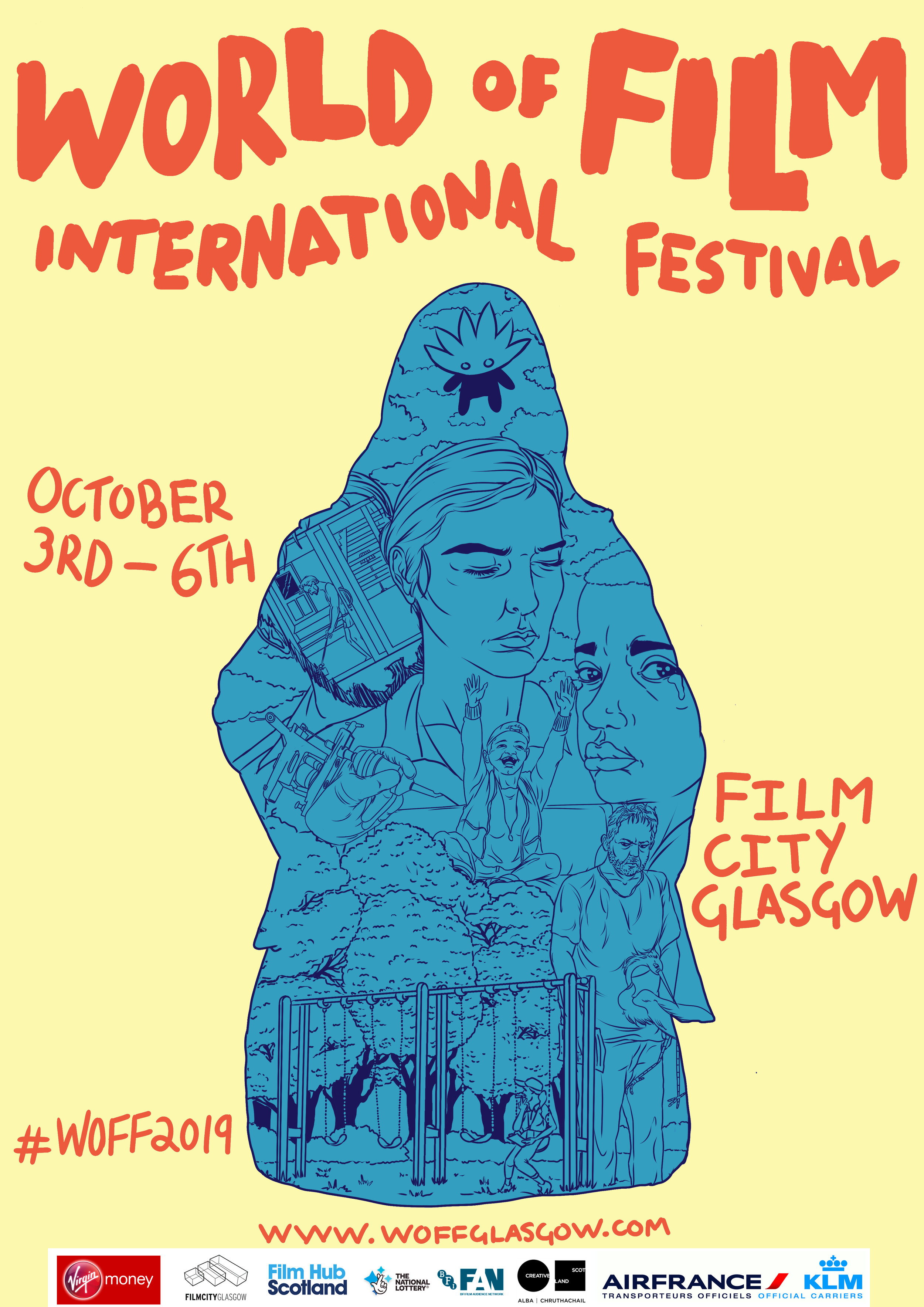 Laura Pellegrini & Stefano Da Fre will participate on the jury for this year's lineup at World of Film International Festival Glasgow! - https://woffglasgow.com/jury-2018/