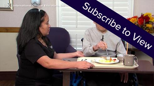 Spinal Stenosis, 3 months Post Surgery: ADLs During Breakfast ( click here for sample videos )