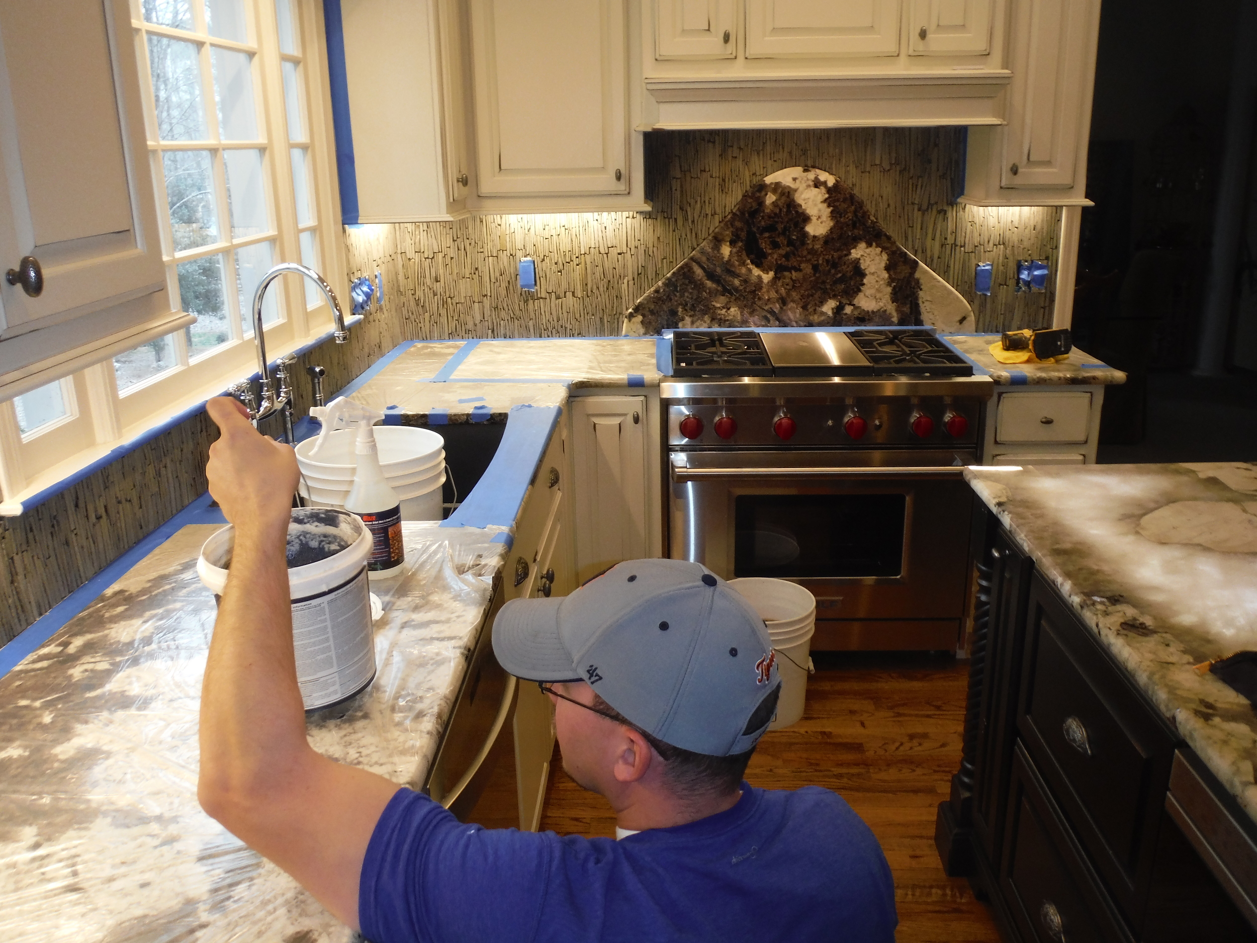 """Will the competition protect your property during an installation and leave your home better than when they arrived? A true finish guy lives by the creed """"Would I pay for this?"""""""