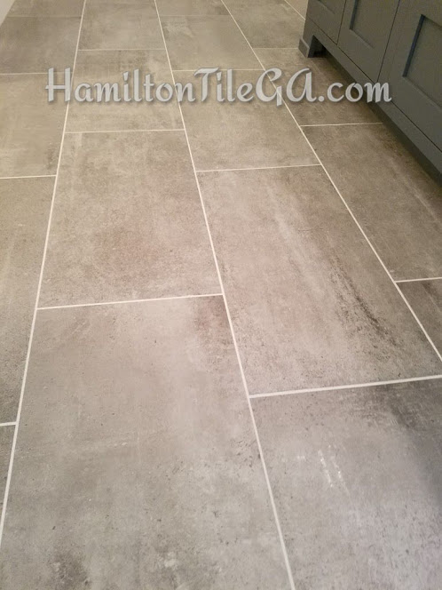 """12""""x24"""" rectangular tile is what everyone wants these days. They are famous for being warped, which makes an offset pattern extremely difficult. The store and the manufacturer of course, will tell you an offset will work just fine…I recommend having your installer do a """"mock up"""" to really show you what you're working with!   Click here to learn more about tile quality."""