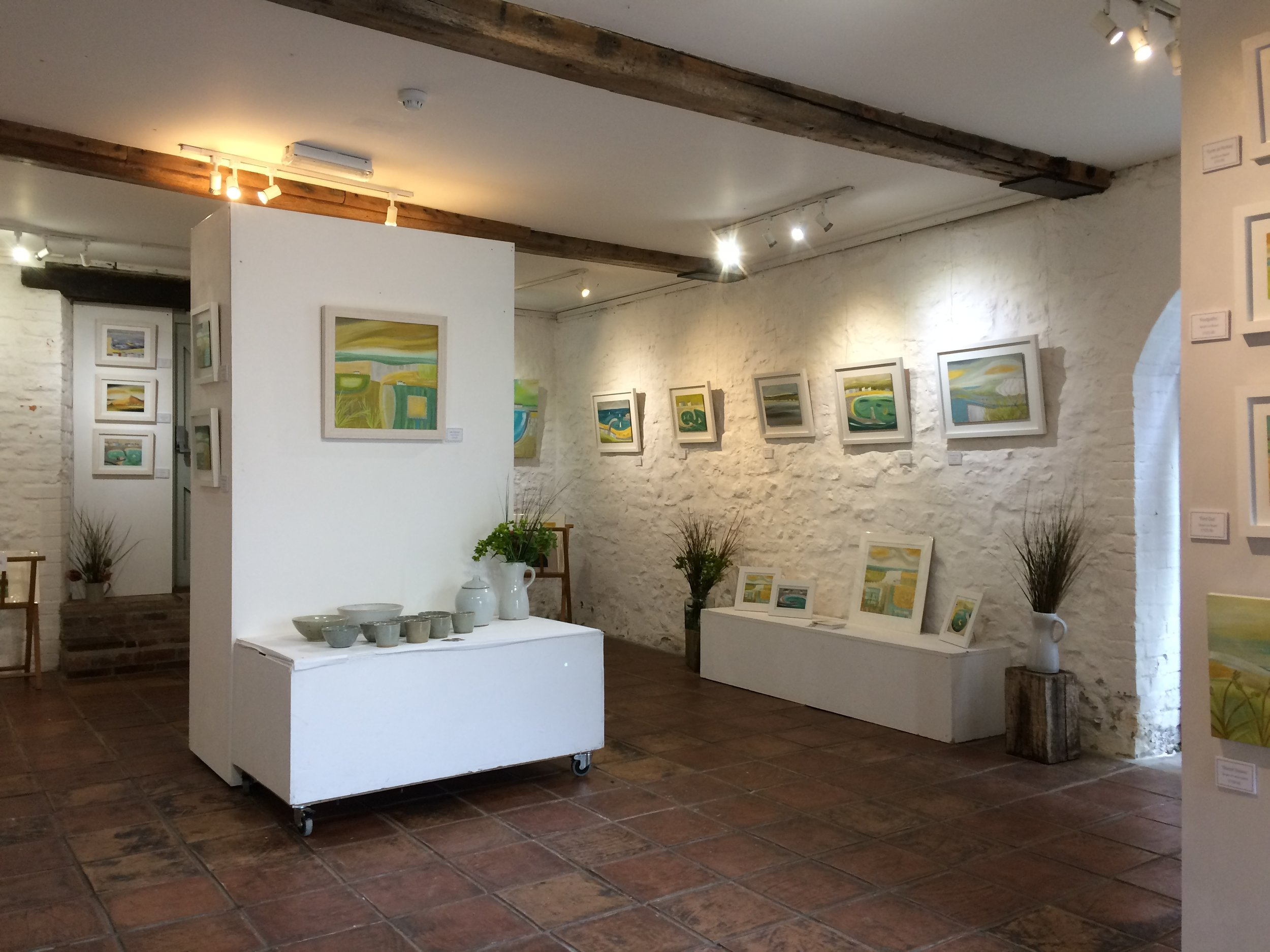 Exhibition at Town Mill Arts, Lyme Regis, May 2017