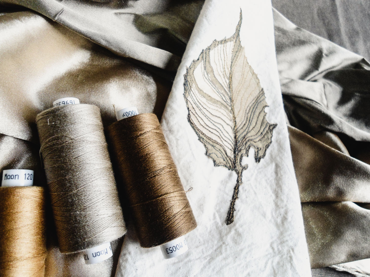 Ivy | Helen Poremba Textile Art & Sewing Classes