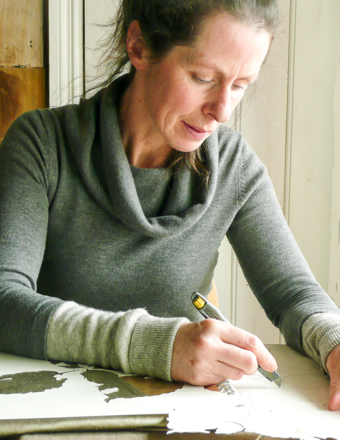 Artist Sketching | Helen Poremba Textile Art & Sewing Classes