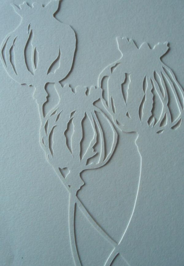 Helen Poremba Textile Artist -  poppy-head-cut-out