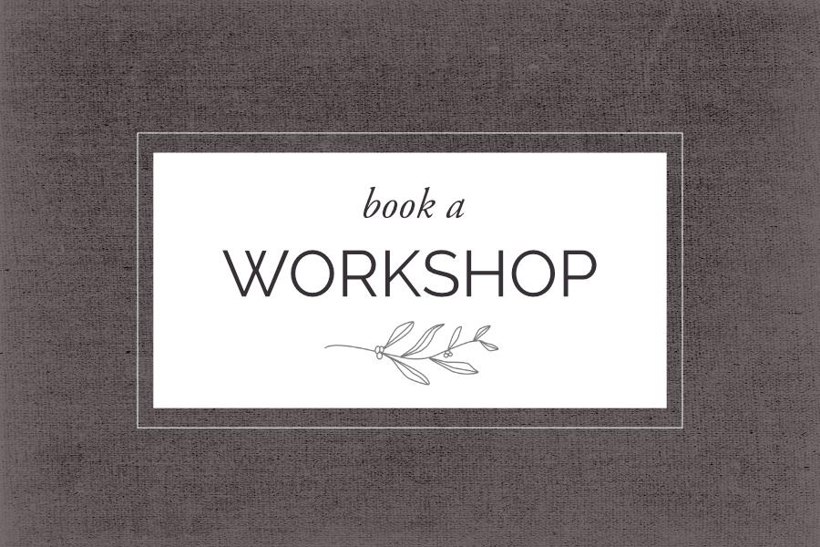 Book A Workshop | Helen Poremba Textile Art & Sewing Classes