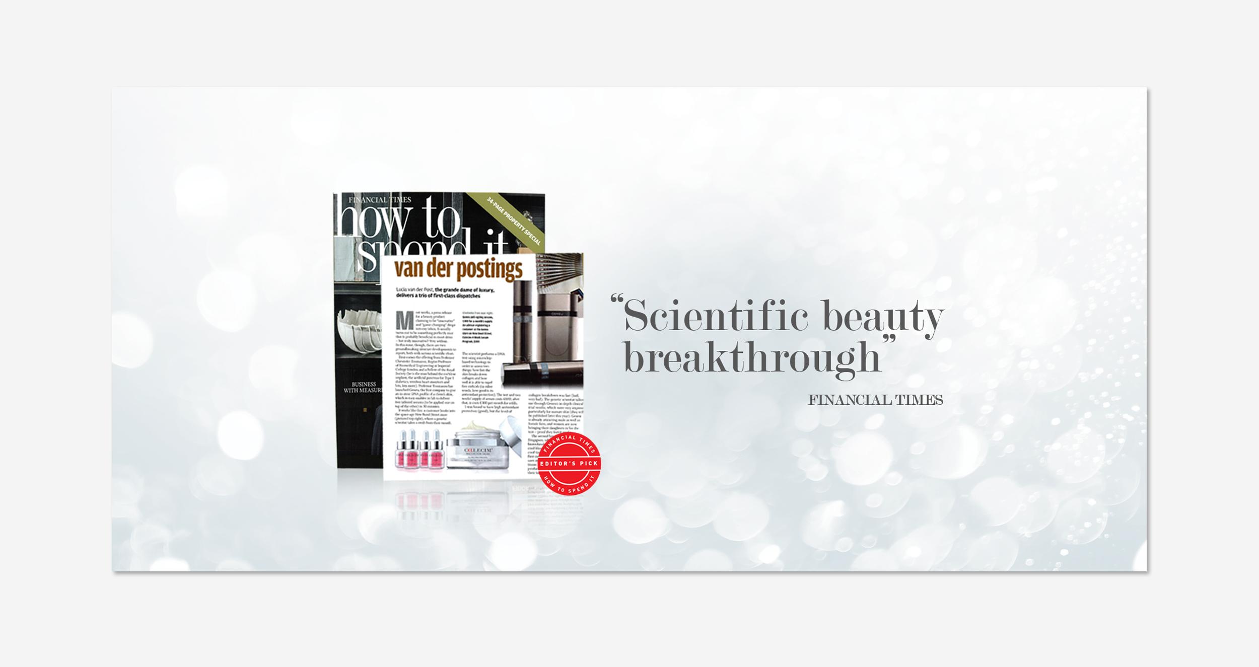Scientific beauty breakthrough.