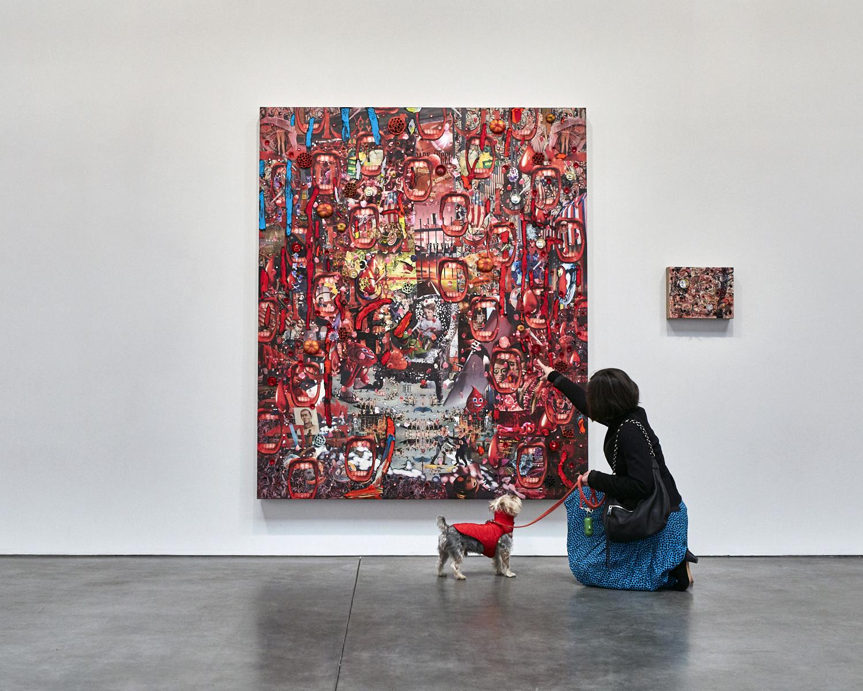 Elliott HOUND-ley at Andrea Rosen
