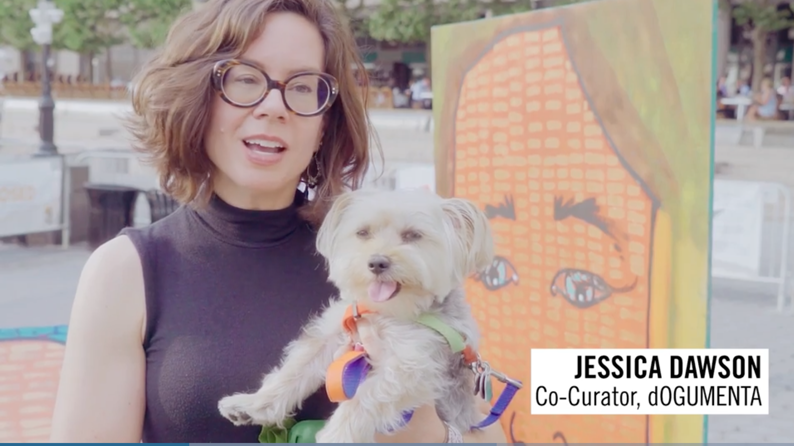Travel + Leisure: Watch Dogs React to America's First Art Exhibit for Canines