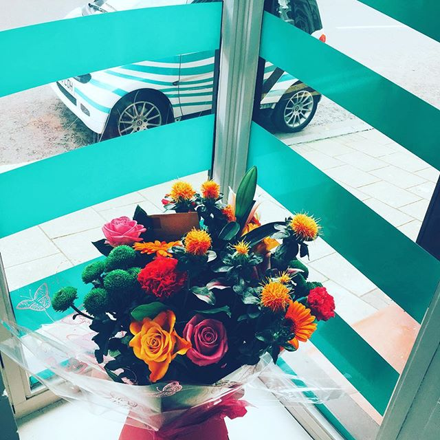 We love our clients and they love us! #clientappreciation #flowerstagram #flowers💐