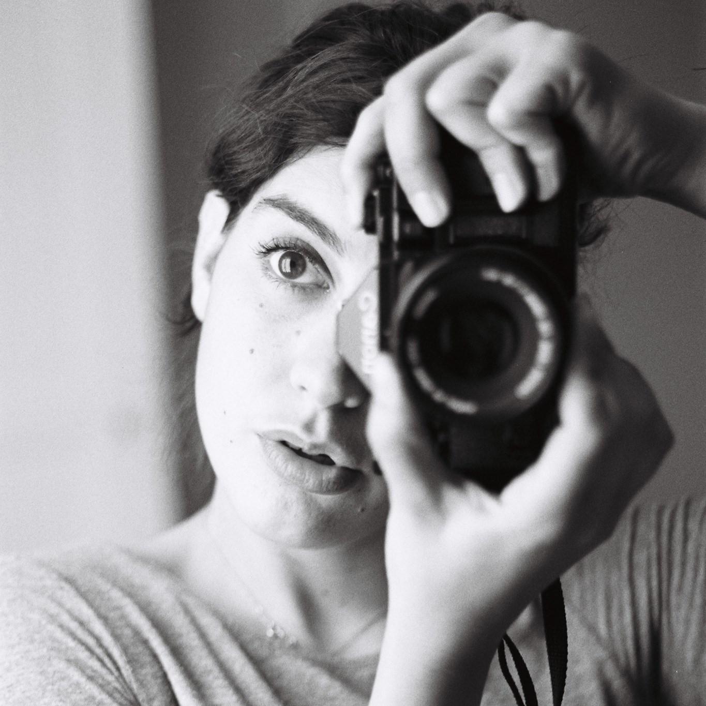 Film photography. Self-portrait. Clothilde Matta
