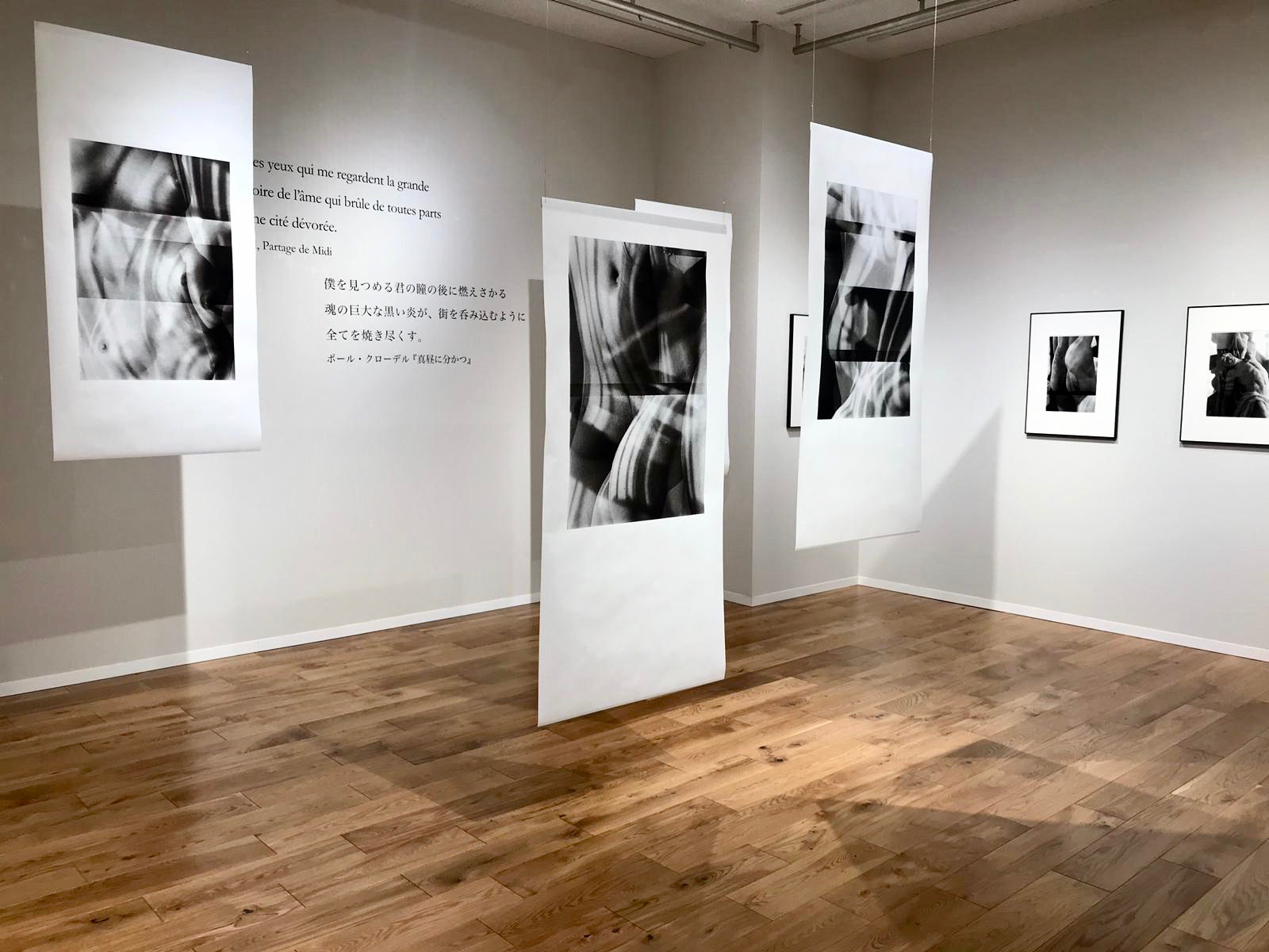 Vue d'exposition Transfiguration    Galerie Wacoal Study Hall, Kyoto    Kg+ / Kyotographie 2019