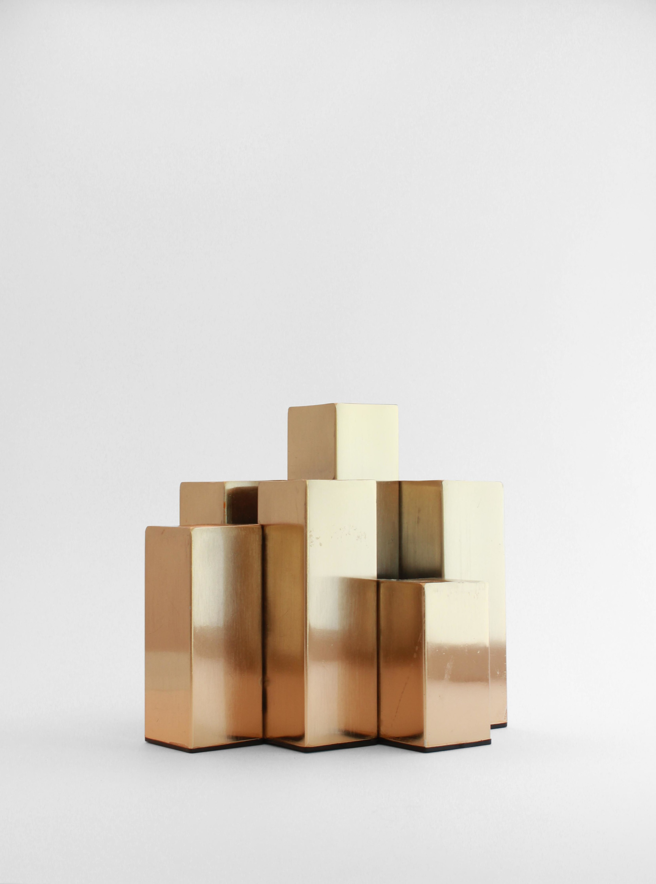 CITYSCAPE CANDLE HOLDER