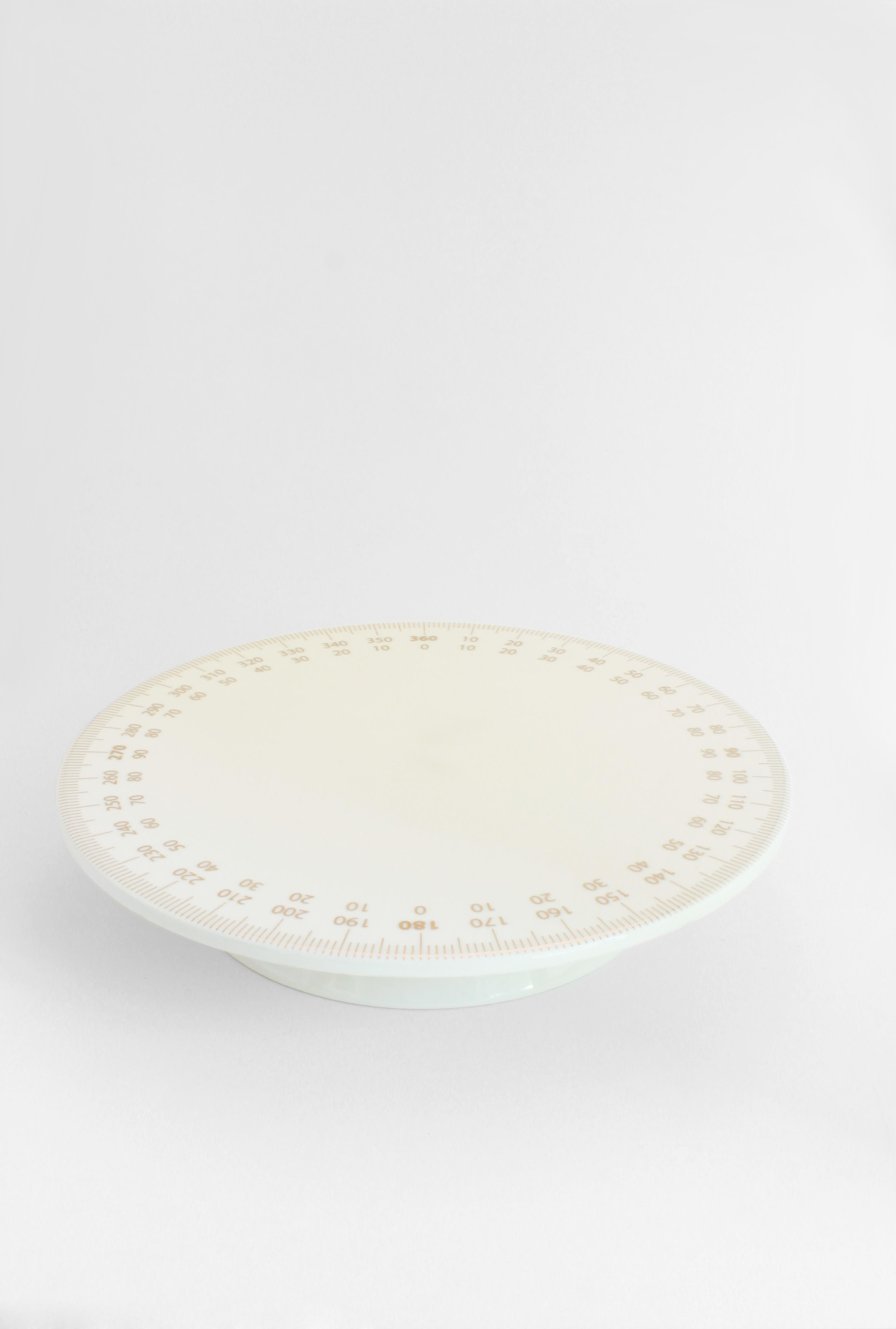 DIAL CAKE PLATE
