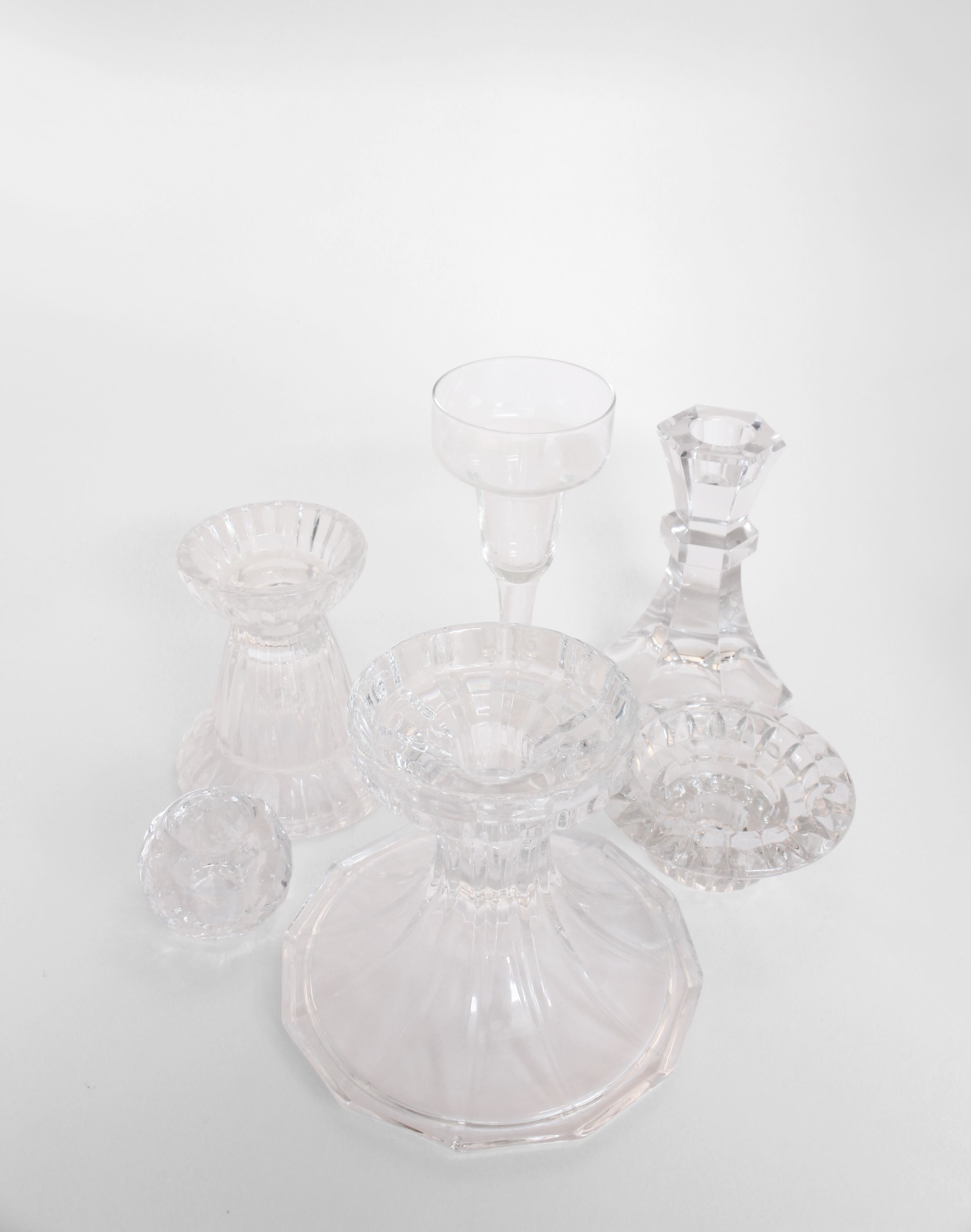 CRYSTAL CANDLEHOLDER COLLECTION