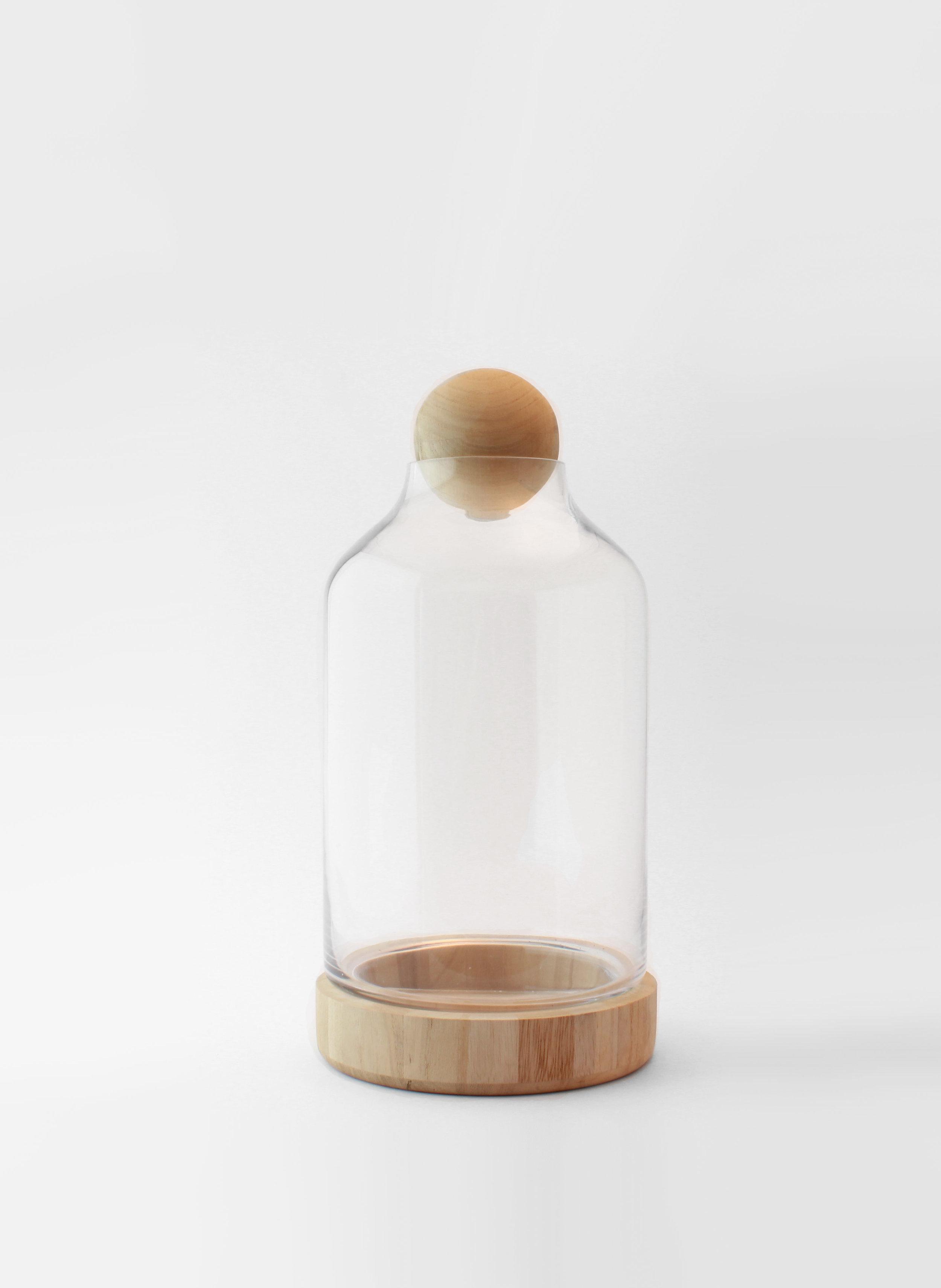 WOOD + GLASS TERRARIUM