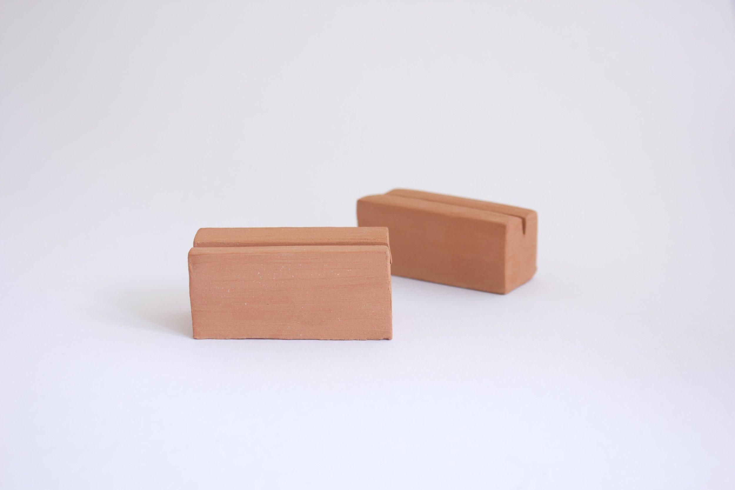 TERRACOTTA CARD BLOCK