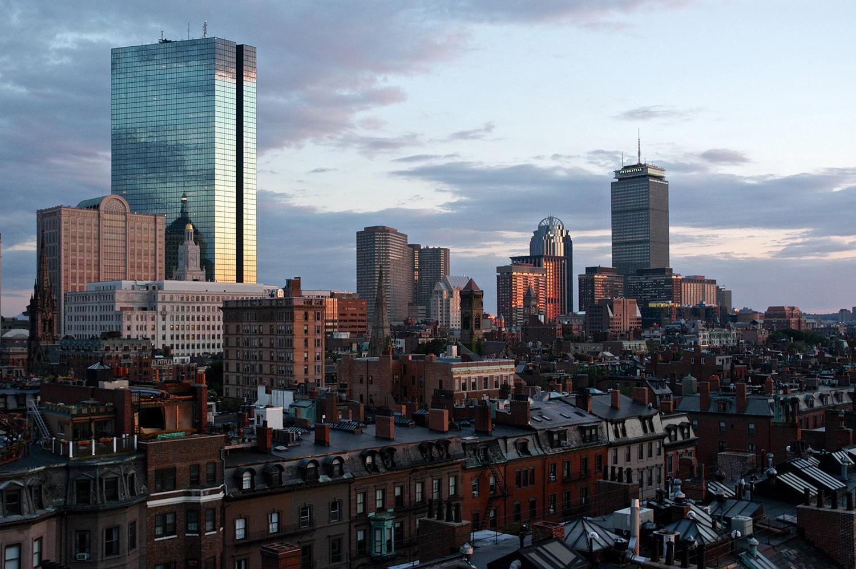 Back Bay Sunset, Boston