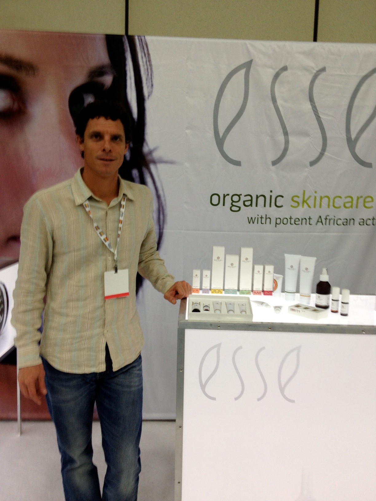 Trevor Steyn, owner and CEO of Esse Organic Skincare