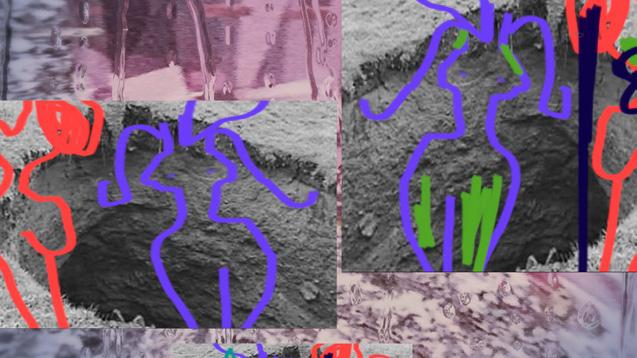 MARIAN TUBBS  (1983), Orbiting (A Melodrama), 2016, (fragmentos), vídeo de un canal en color, sonido, cortesía de la artista.