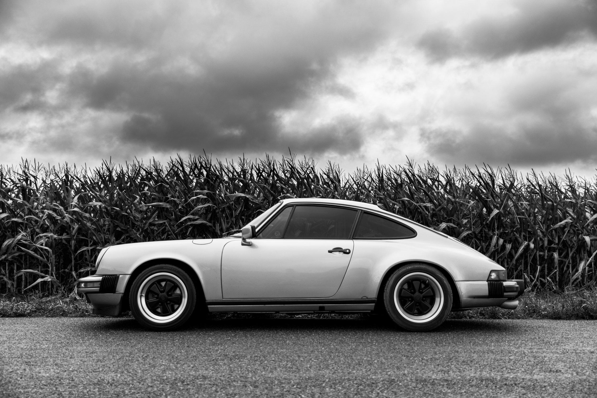 1986 Iris Blue 911 Carrera -