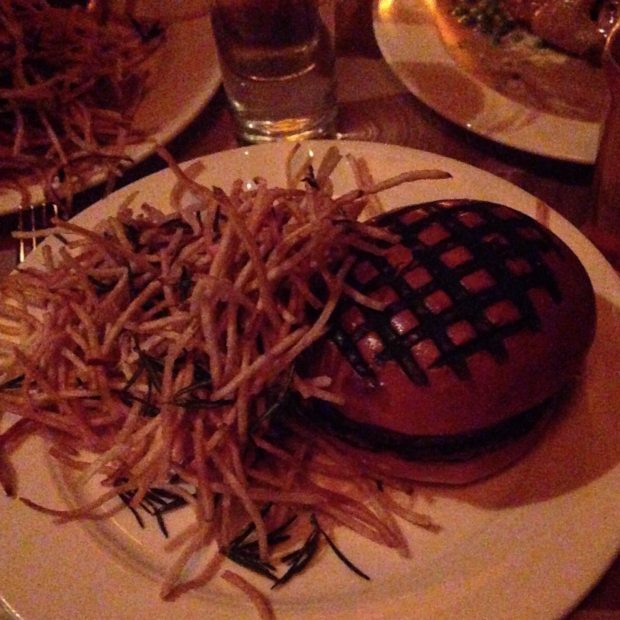 Hambúrguer do descolado The Spotted Pig.