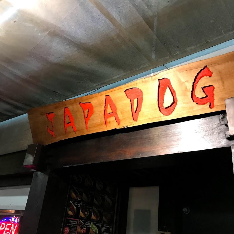 Fachada sem frescuras do Japadog.