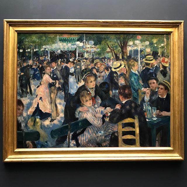 Um Renoir pra alegrar a tarde de quarta-feira. Esse está no meu museu favorito, hors concours da vida, Museé d'Orsay. Ele é bem menor que o Louvre, mas tem uma coleção de cair o queixo. Todos os clássicos (quase todos rs) que aprendemos na aula de artes da escola estão lá. De arrepiar! Saudades.  #mandolinablog #mandolinaviaja #paris #museedorsay
