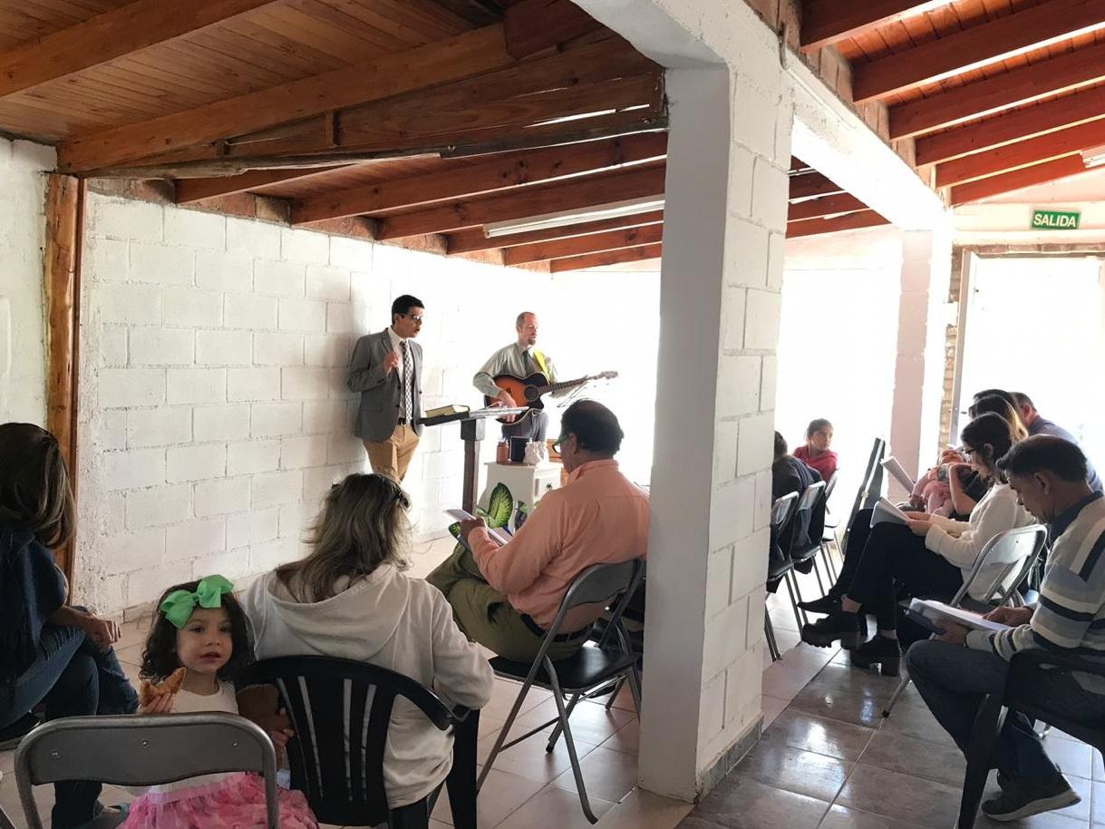 Church Service at New Hope Baptist Church in Cordoba,Argentina