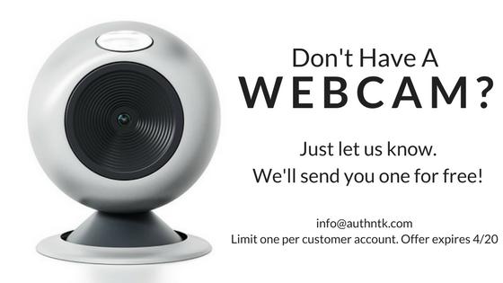 Don't Have A Webcam
