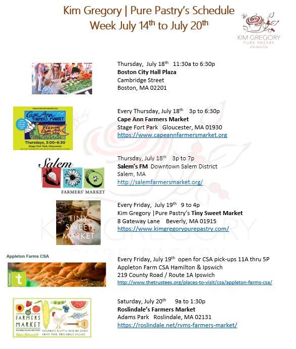 This week July 14-20 at KGPP