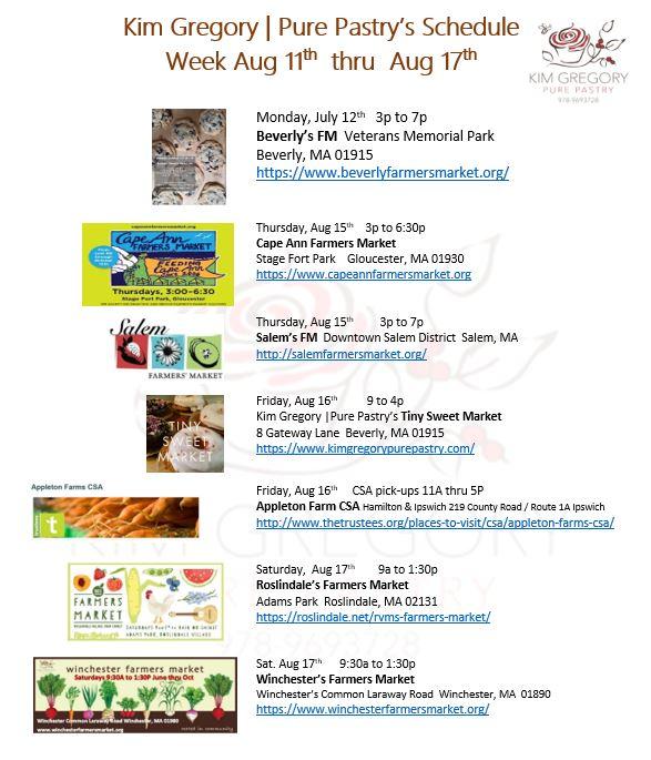 This week Aug 11-17  at KGPP