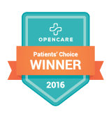 Honored and Humbled to be a Patients' Choice Winner for OpenCare and to that, we give thanks to our patients and community members!