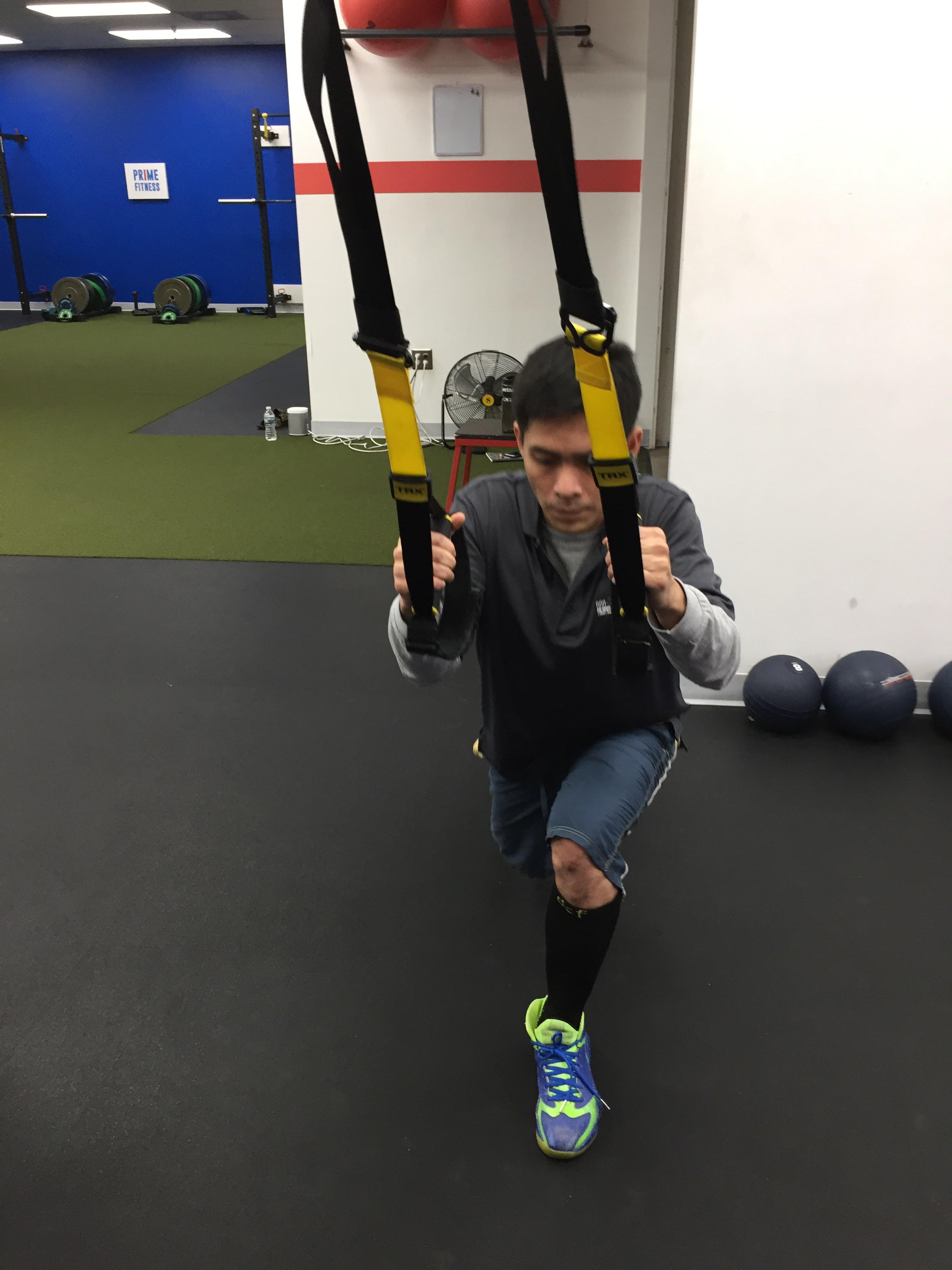 Lunge and Pull personal training functional movement Columbia Howard County MD.jpg