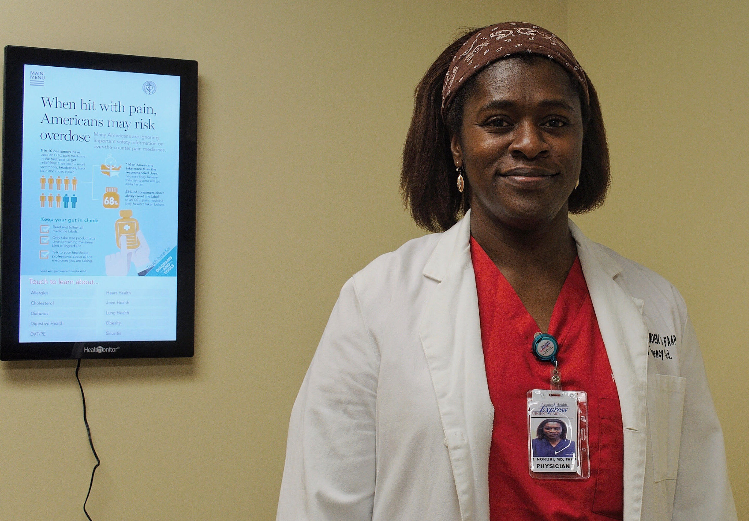 Dr Nokuri Premier Health Express Urgent Care Pediatrician and AAA Physical Therapy Best in Columbia Howard County MD.jpg