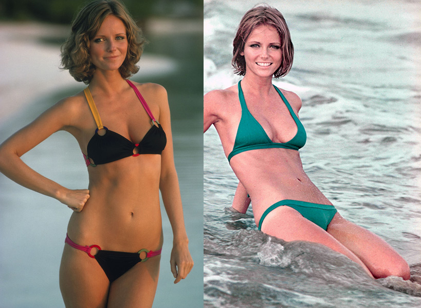 Cheryl Tiegs at 5'10 and 102 pounds.