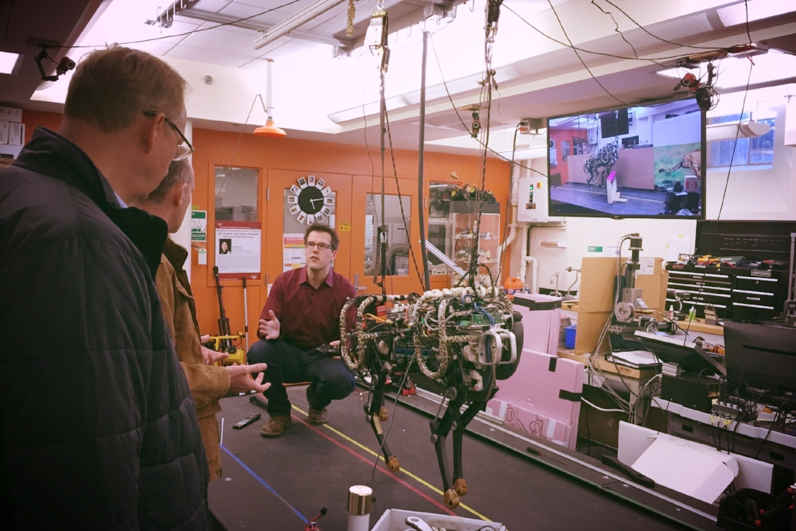 The Digital Masters Academy Session at MIT Robotics Lab, Boston