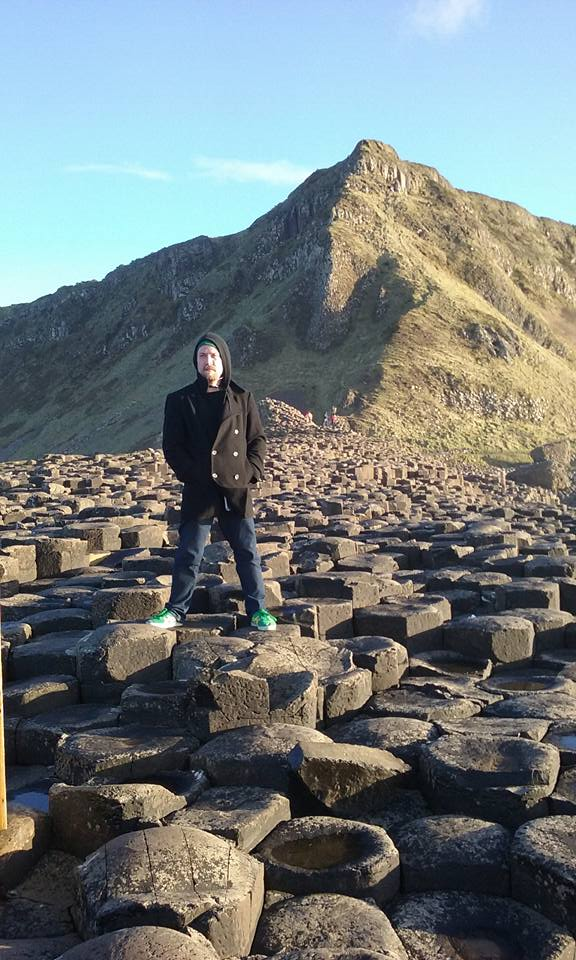 Giant's Causeway, County Antrim, Northern Ireland -- a few miles from where Zac's family lived for generations.