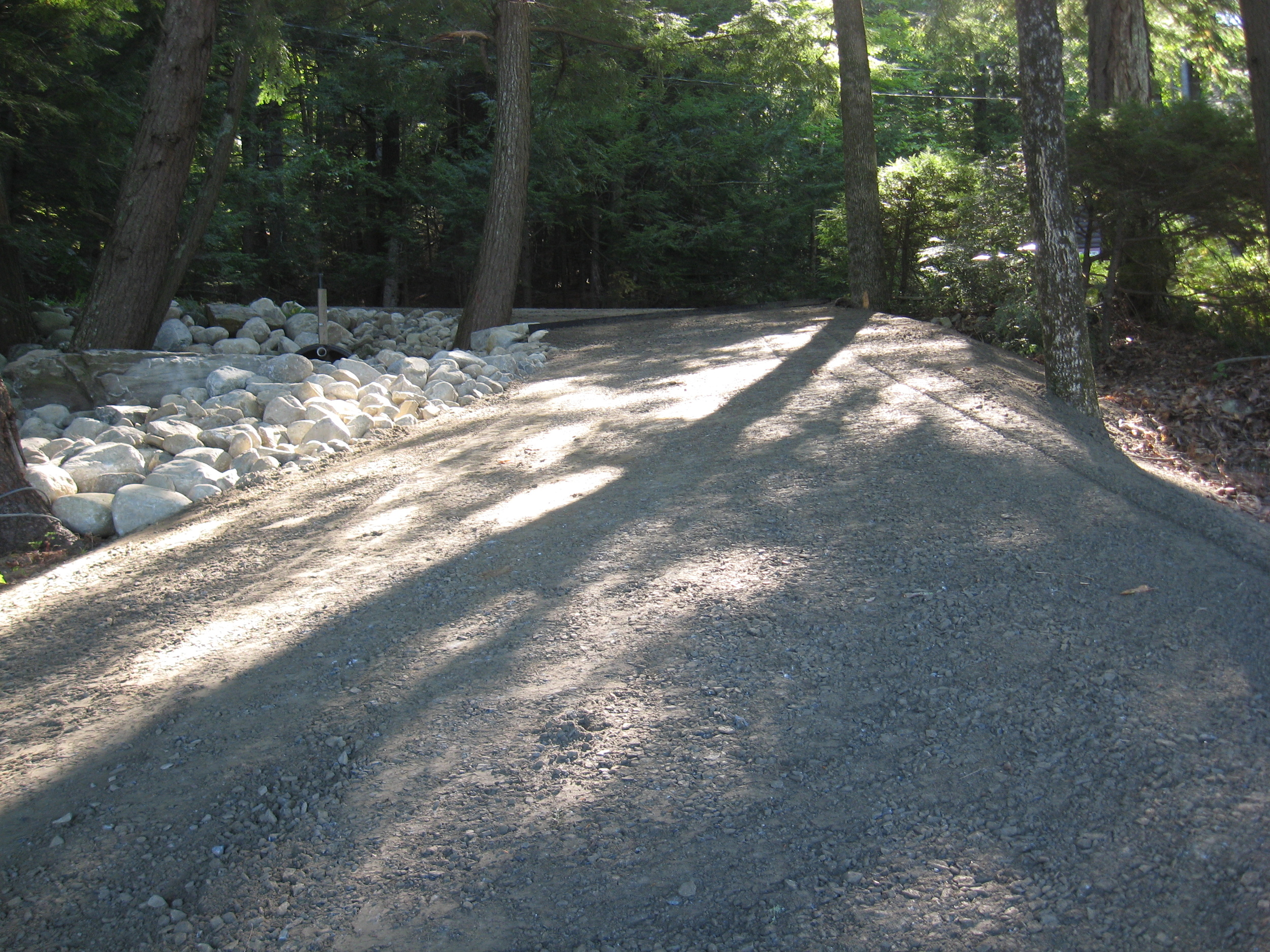 MES Specializes in gravel road design and maintenance plans that protect your budget and provide long-term reliability.