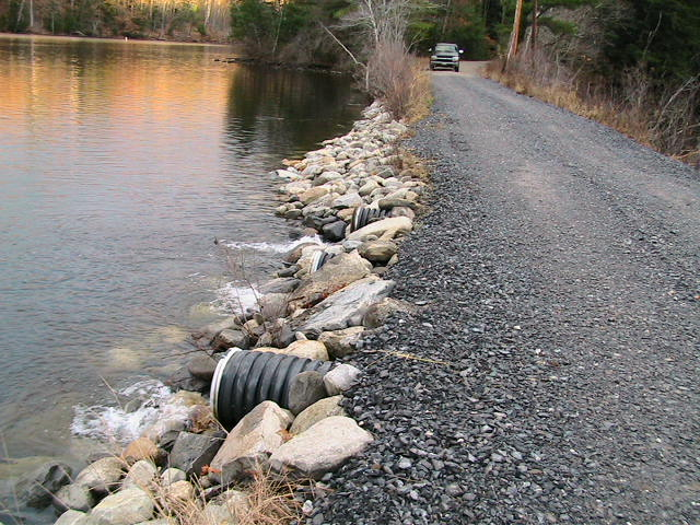 Maine Environmental Solutions provides turn-key solutions to complicated stormwater challenges and gravel road planning.