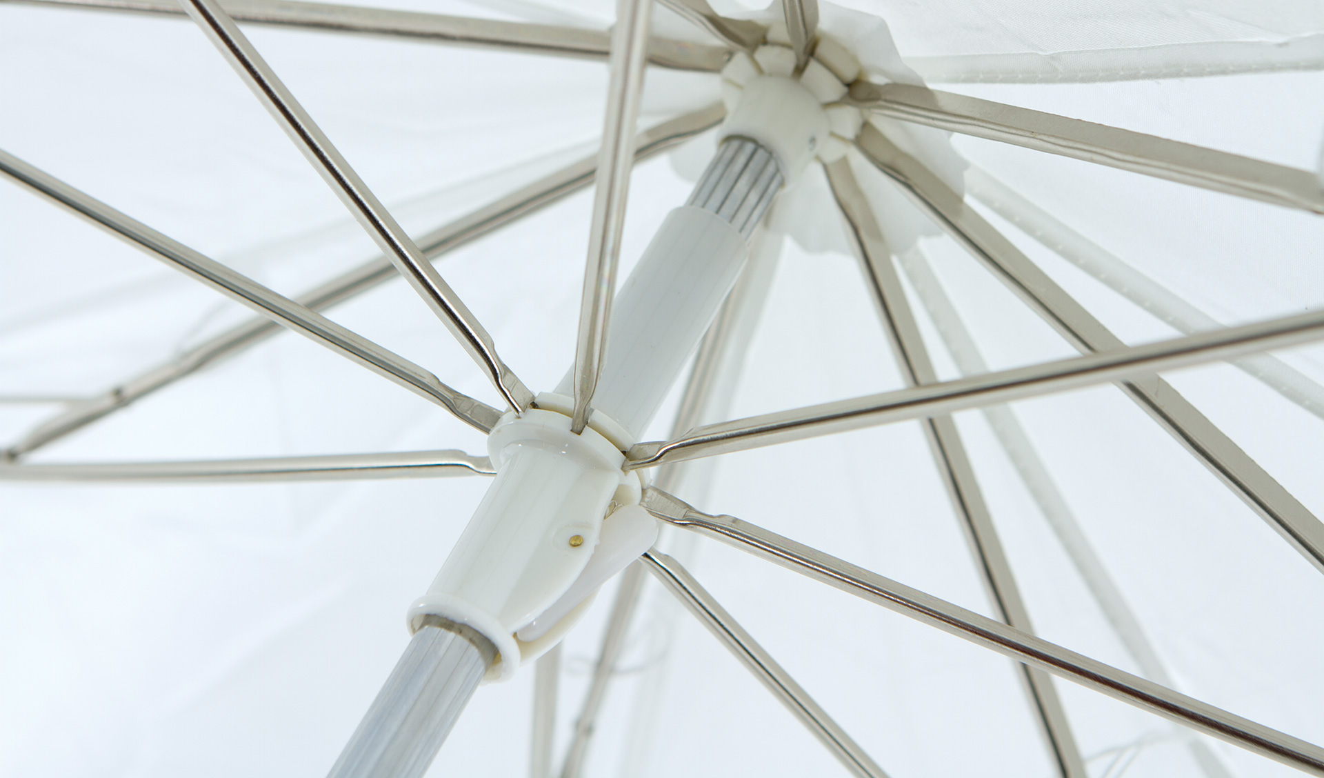 Strong Steel Framework - Constructed with a steel shaft and ribs, these umbrellas are reliable when used in both the studio and out on location.