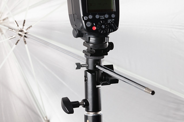 - Shooting with speedlites? There are a variety of mounting brackets available with adjustable and tiltable options for precise positioning.