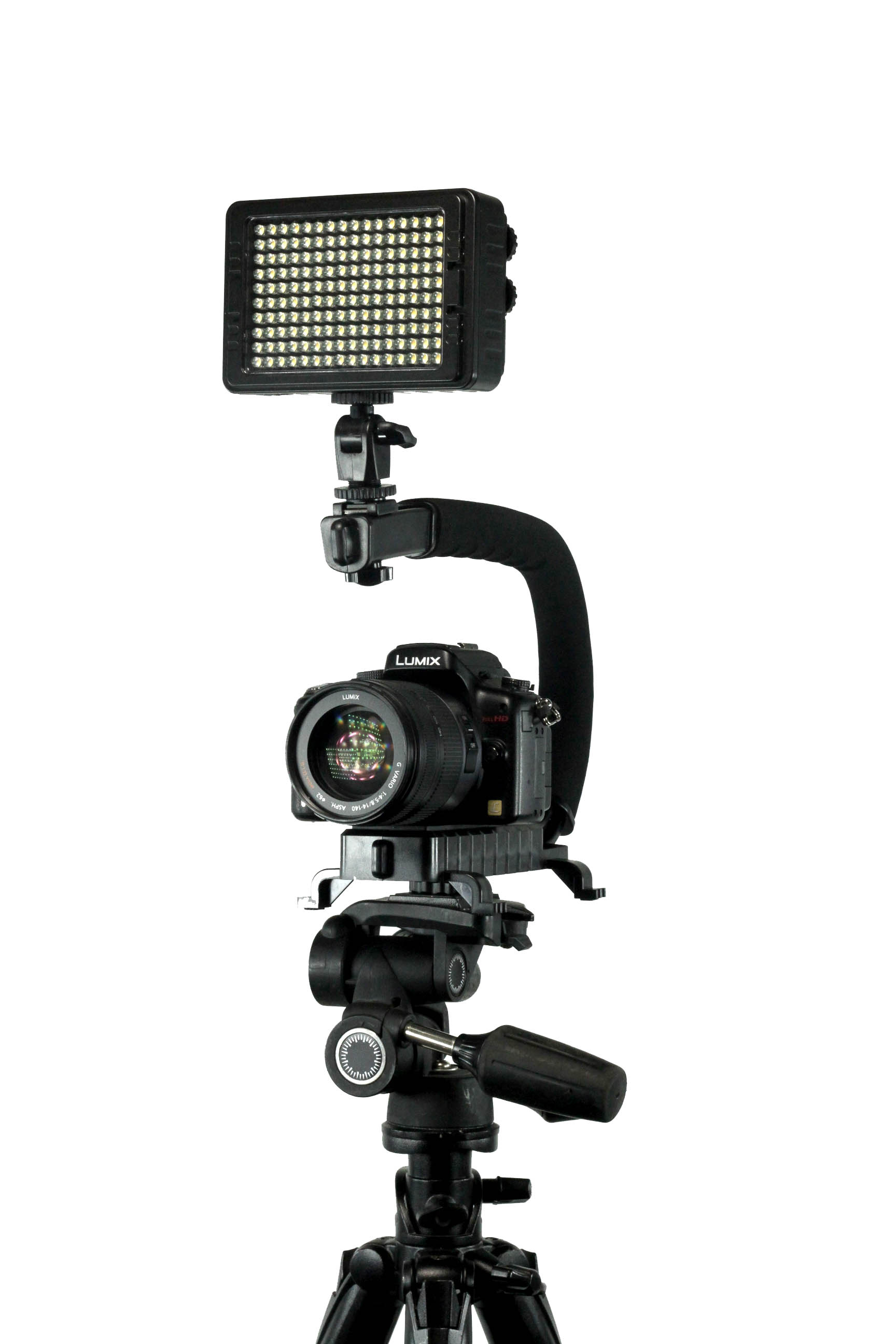 Tripod Mountable - Easily connect the Scorpion Jr. to your favorite Tripod.