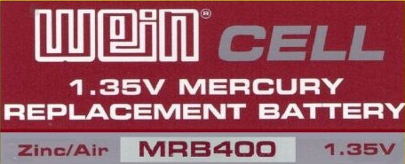WEIN CELL MRB400  REPLACES RM400R V400PX