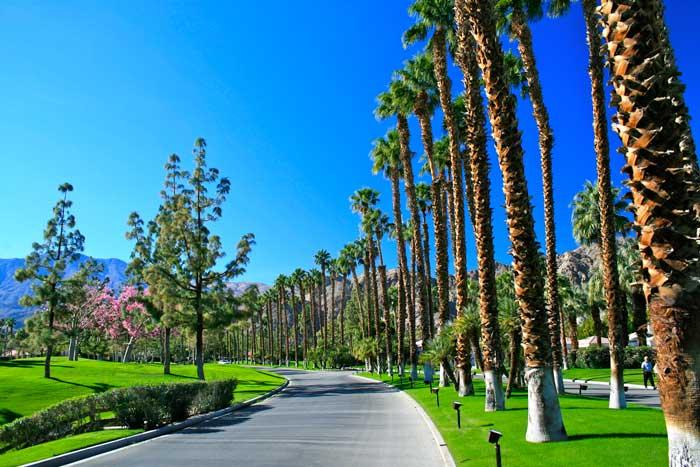 Arnold Palmer Entrance Drive at PGA West